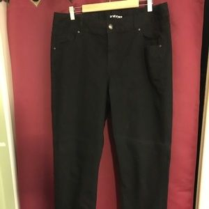 Lane Bryant Black Jeans